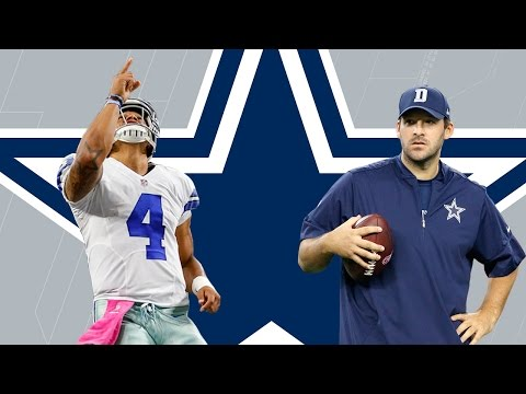 Dak Prescott or Tony Romo: Who Should the Cowboys Start? | Dave Dameshek Football Program | NFL