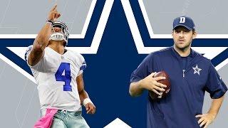 Dak Prescott or Tony Romo: Who Should the Cowboys Start?   Dave Dameshek Football Program   NFL