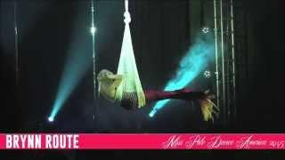 Miss Pole Dance America 2015 - Brynn Route