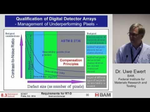 Uwe Ewert: Minimum Requirements for Digital Radiography Equipment and Measurement Procedures ...