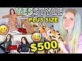 $500 YESSTYLE PLUS SIZE CLOTHING HAUL & TRY ON 2020 *yikes*