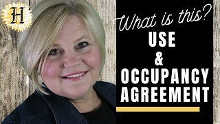 What is a Use and Occupancy Agreement in Massachusetts