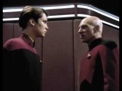 Star Trek TNG - The First Duty - Trek on telling the Truth.