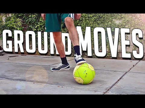 Learn Football & Futsal Ground Moves • Tutorial For Beginners