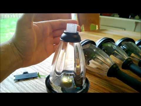Hampton Bay Solar Path Lights 6 Pack Review Part 1