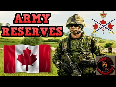 Joining The Canadian Army Reserves | Why Join?