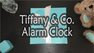 Tiffany & Co. Alarm Clock Unboxing