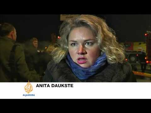 Latvia supermarket roof collapse kills dozens