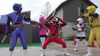 2015年7月12日に行われた「ニンニンジャー」のキャラクターショーです。