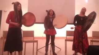 VIMMA 2014 - Joik by Sini, Elina and Elvi in AJHO, Joensuu