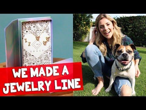 WE MADE A JEWELRY LINE // Grace Helbig