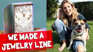 WE MADE A JEWELRY LINE // Grace Helbig