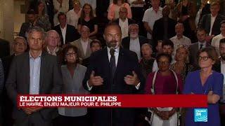 Municipales 2020 : Le Premier Ministre Edouard Philippe Vainqueur Au Havre Avec 59% Des Voix