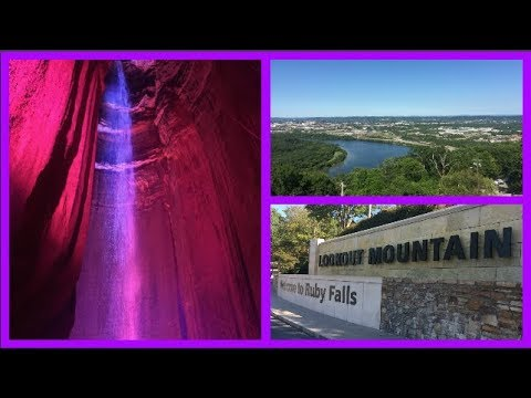 TRAVEL VLOG: RUBY FALLS, CHATTANOOGA, TN - UNDERGROUND WATERFALL IN A CAVE | beingmommywithstyle