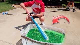 HYDRO DIPPING A BLITZBALL BAT! | NEA Blitzball