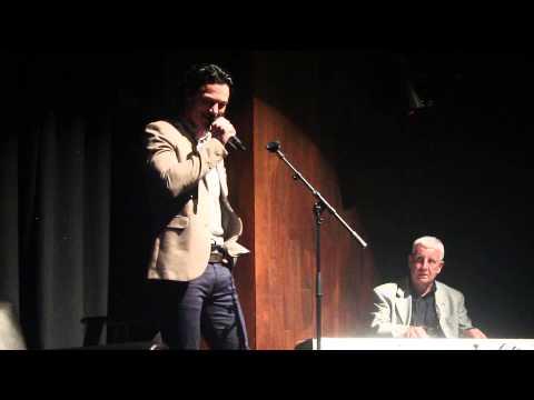 James Nesbitt and Luke Evans duet at the  Theatre 22092013
