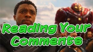 My Role in Black Panther (Reading Your Comments)