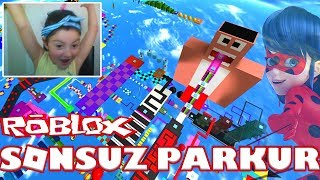 ENDLESS TRAIL 🐞 Roblox Games 🐞 Rolblox Parkour Inglese con Miracle Ladybug