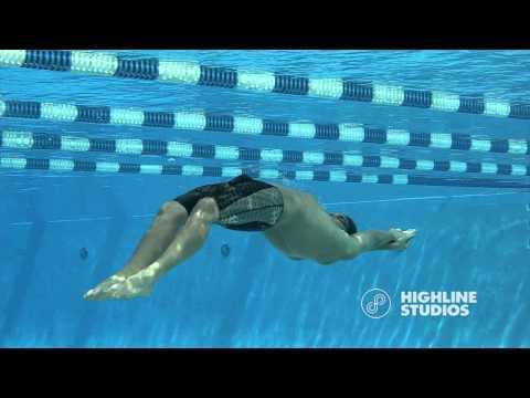 Ryan Lochte underwater dolphin stroke