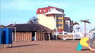 Феодосия Золотой пляж Пляж 117 напротив входа в Отель Станица