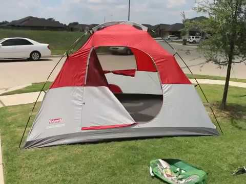 ⋆⋆⋆⋆⋆ Coleman Rolling Meadows 6 Person Dome Tent