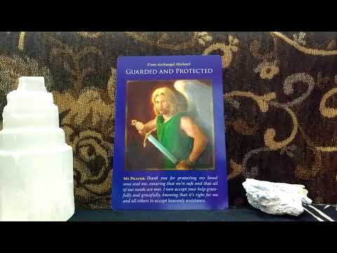 Daily Oracle Card Reading 21st May Archangel Michael Guarded and Protected prayer tarot all signs