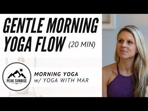 Gentle Morning Yoga Flow (20 Min) - Yoga With Mar