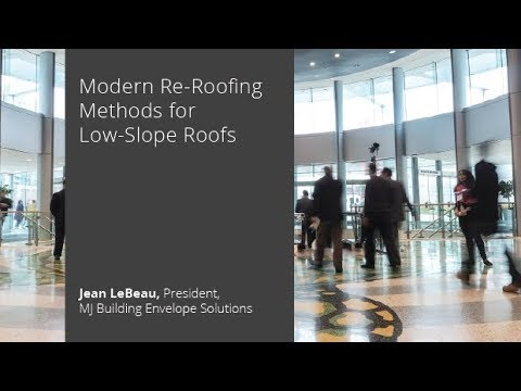 Modern Re-Roofing Methods for Low-Slope Roofs