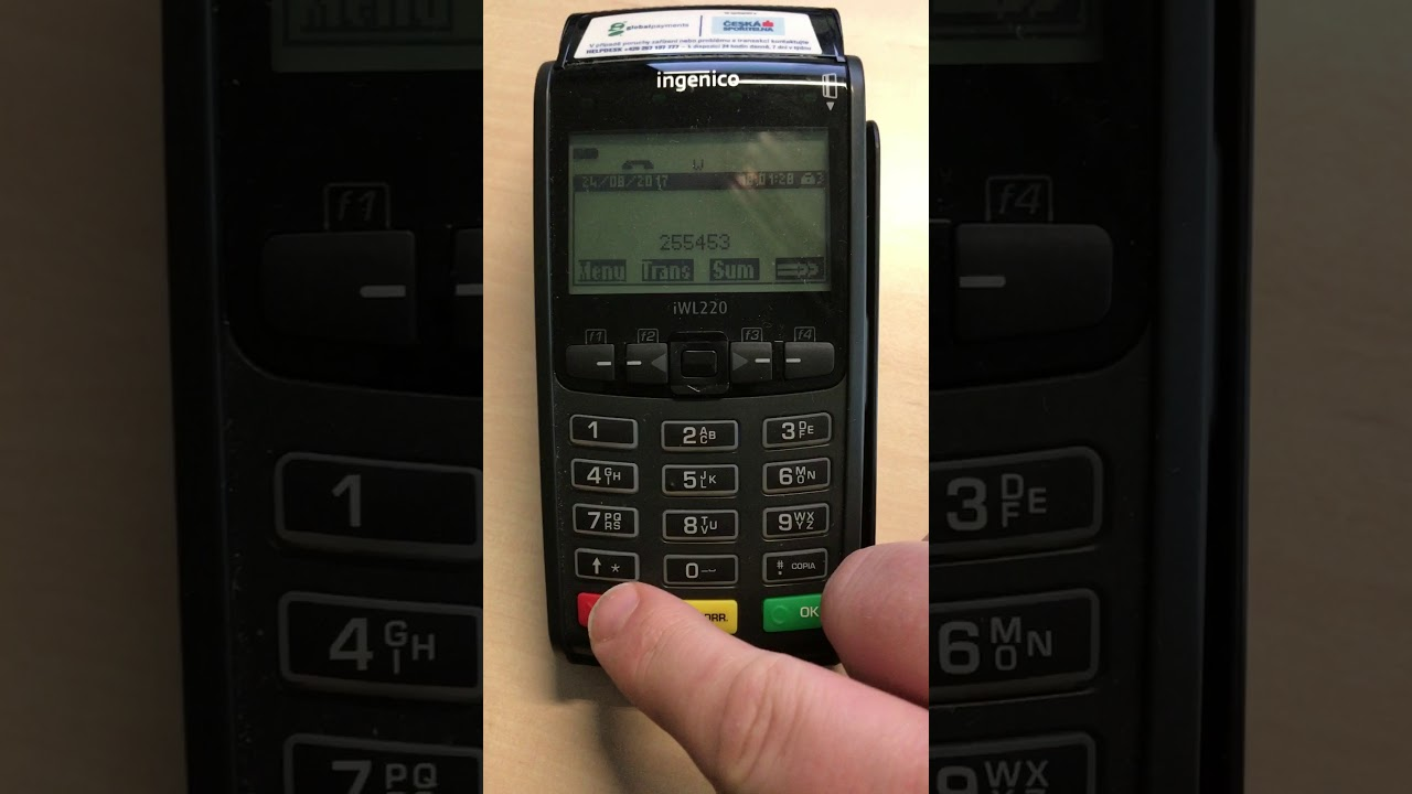Ingenico download thru Telium Manager