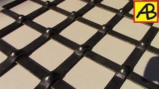 видео Распашные кованые решетки