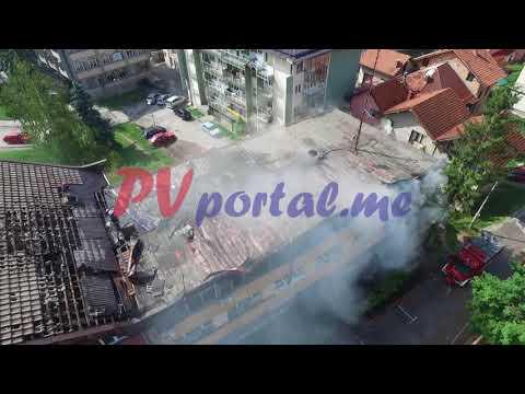 Izgorela RTV Pljevlja