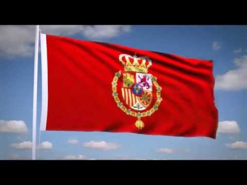 "National Anthem of the Spain (""Marcha Real"") Royal flag of Spain"