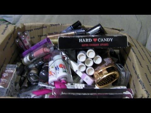 Hard Candy (HUMONGOUS) Makeup Haul (Ebay) 2015 PT 1