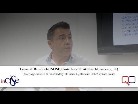 Leonardo Raznovich (INCISE, Canterbury Christ Church University, UK)