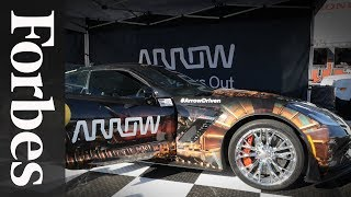 Sam Schmidts Semi-Autonomous Race Car