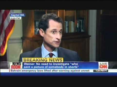 Representative Anthony Weiner interview with Wolf Blitzer (June 1, 2011) [1/2]