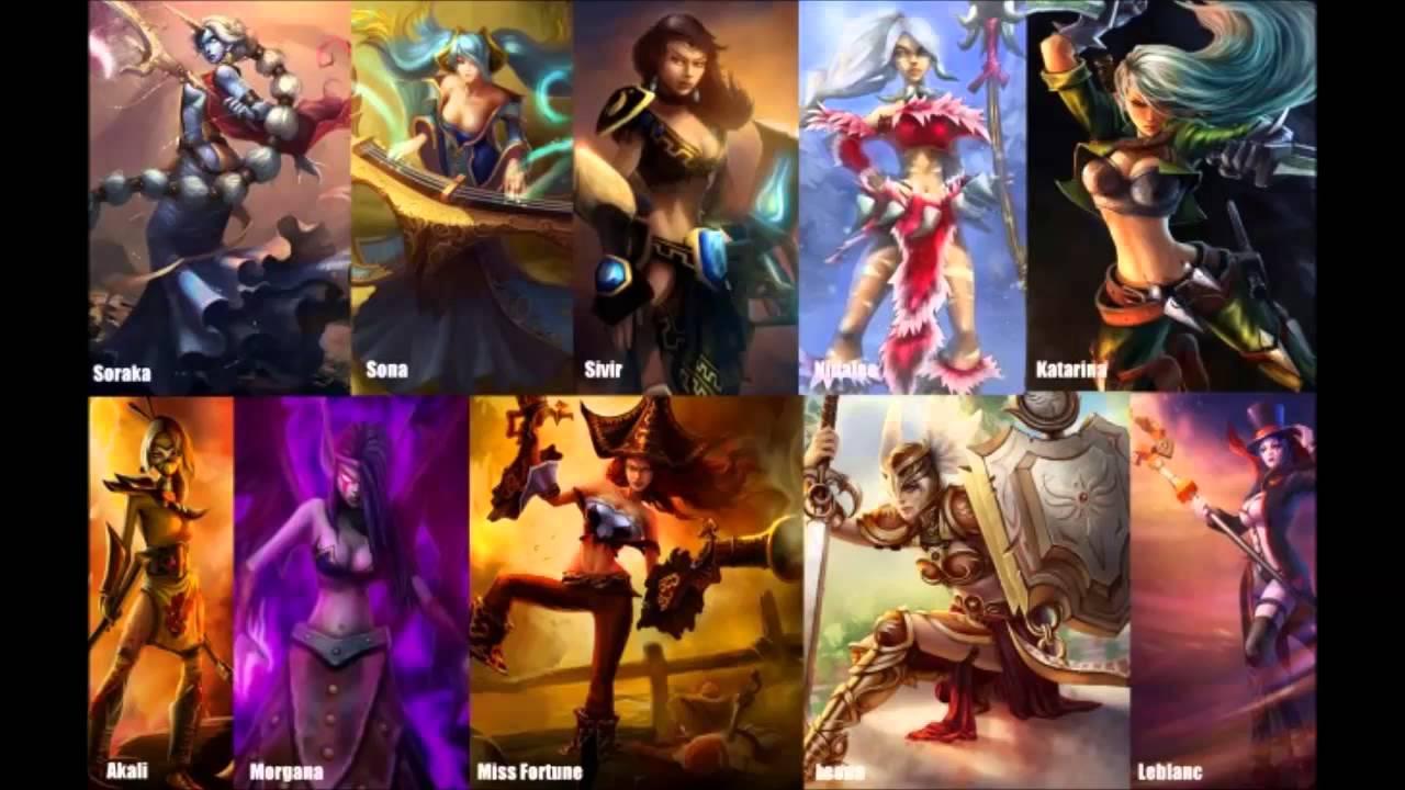 League Of Legends Frauen