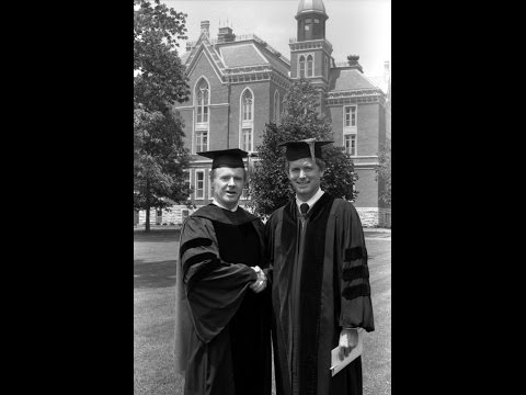 May 1982 - Kevin Armstrong '82 & Sen. Dan Quayle '69 Address DePauw Graduates