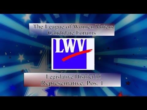 LWV Forum 2016 - WA State House, District 35 Position 1