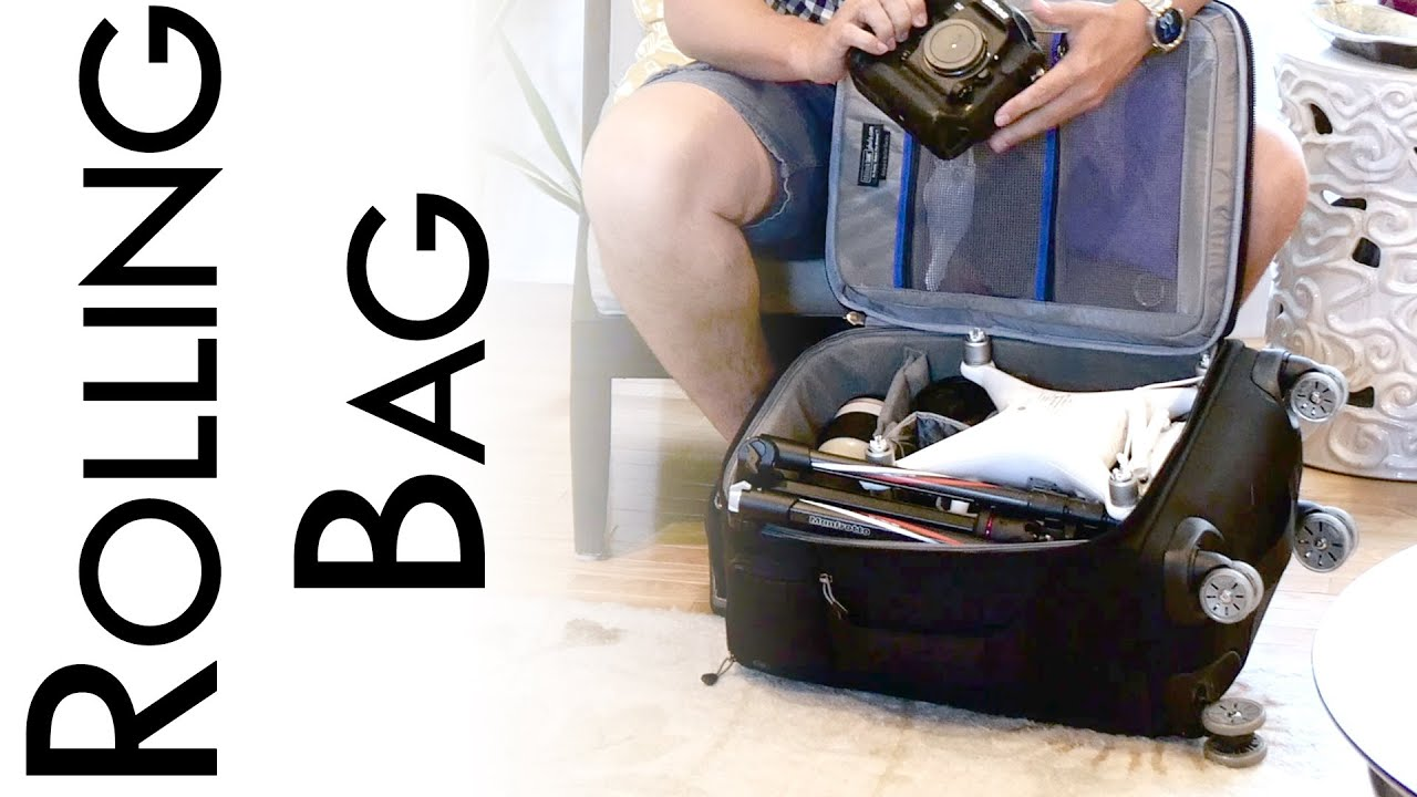 Think Tank Roller Derby Review (Camera Bag for Airports) - YouTube