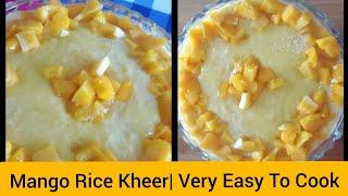 Mango Rice Kheer Recipe By Jana&#39s meal  How to Make Mango Kheer?