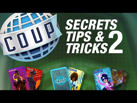 WIN at Coup - SECRETS tips & TRICKS - Part 2