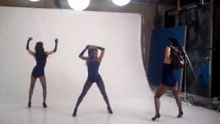 Behind the Scenes of the Beyonce Faux- 11 shoot