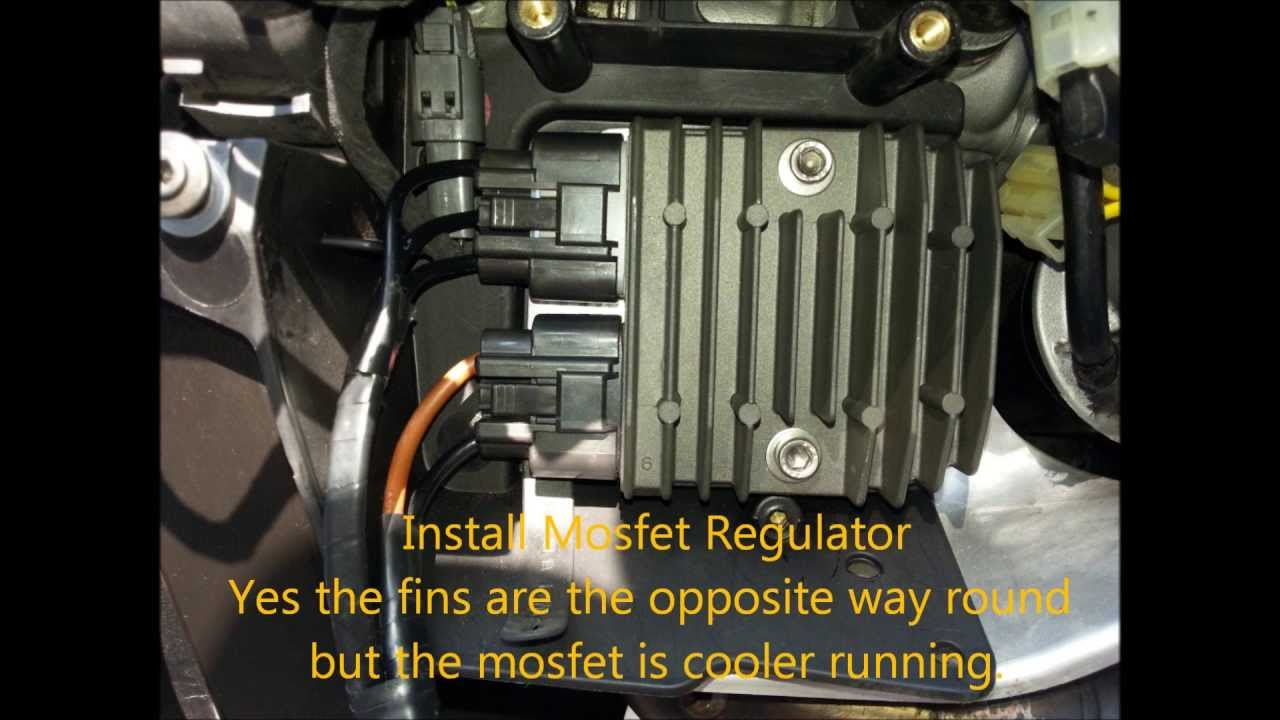 Ducati Mosfet Regulator Install Youtube 1997 748 Wiring Diagram