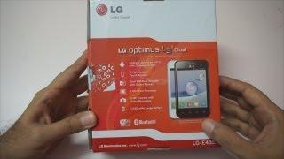 LG Optimus L3 Dual Unboxing & Overview