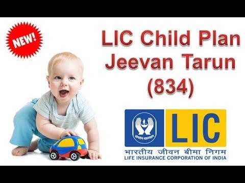 LIC Child Plan Jeevan Tarun -834