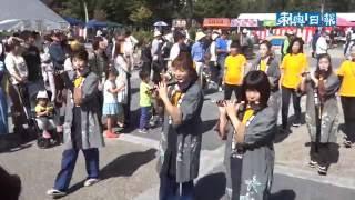 地域一体、行列華やか/八戸大館・新田城まつり