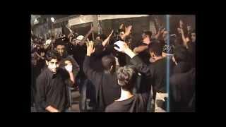 حماس المعزين مع قصيدة طلع شاب من الخيم أباذر الحلواجي ليلة تاسع 1430