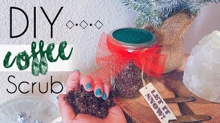 DIY COFFEE SCRUB | How To make a Coffee Body Scrub Exfoliator!! | Kait Nichole