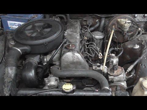 Установка OM 617 Turbo в Мерседес W123